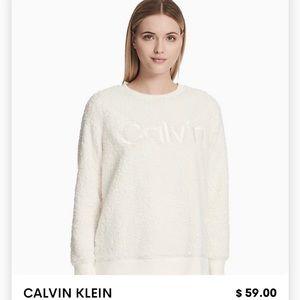 Calvin Klein Sherpa pullover